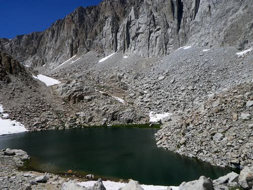 The Northernmost of the Cottonwood Lakes