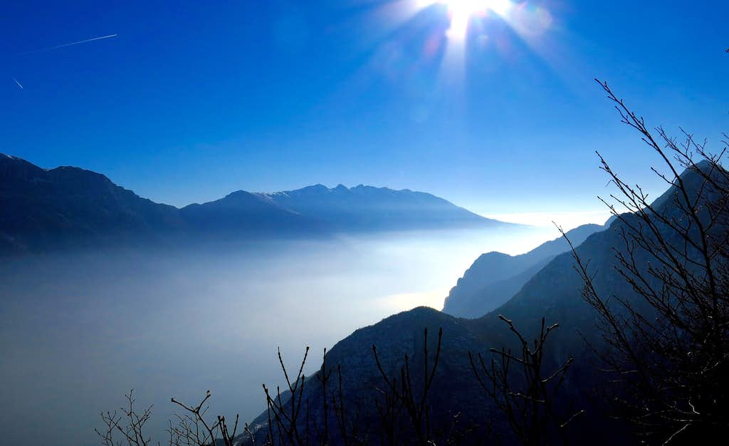 View from the summit of Cima Rocca