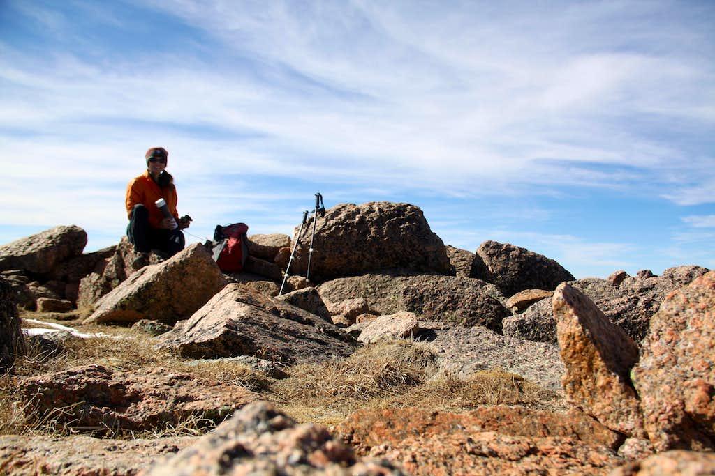 Summit of Henry Mountain