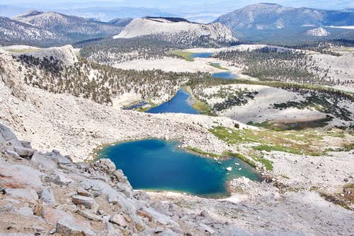 26 Miles Backpacking and Summiting Mount Langley Via Cottonwood Lakes Trail and New Army Pass