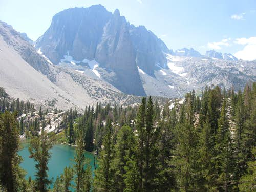 Temple Crag Above First Lake