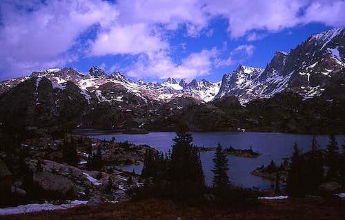 Island Lake, July 5, 2004.