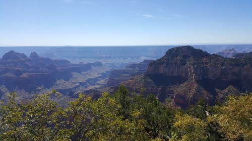 View from North Rim Lodge