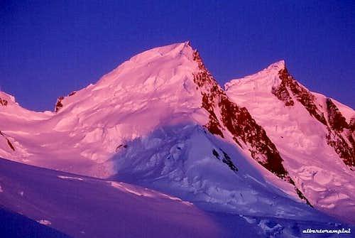 Cerro Ñato alpenglow