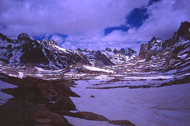 Titcomb Basin, July 5, 2004....
