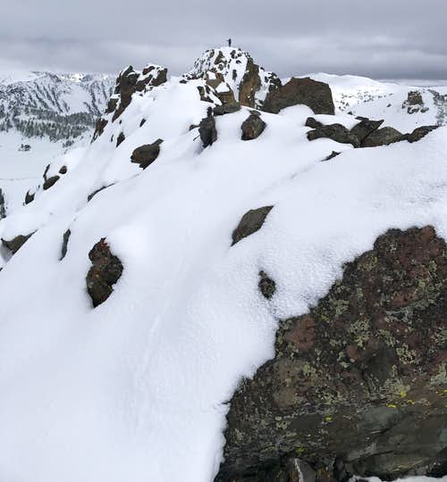 On the Summit of Crown Butte