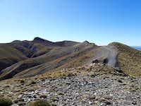 High peaks of Chelmos