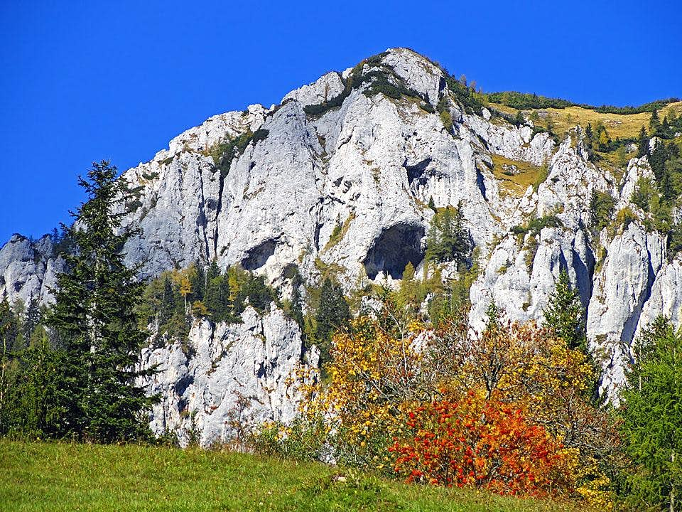 Olseva cliffs