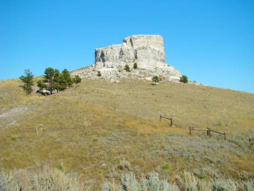 Hat Rock, Wyoming