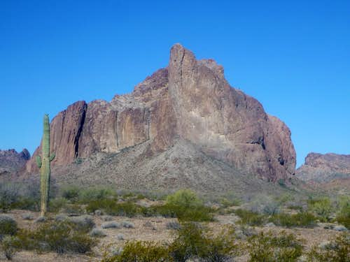 Courthouse Rock - Eagletail Mountains