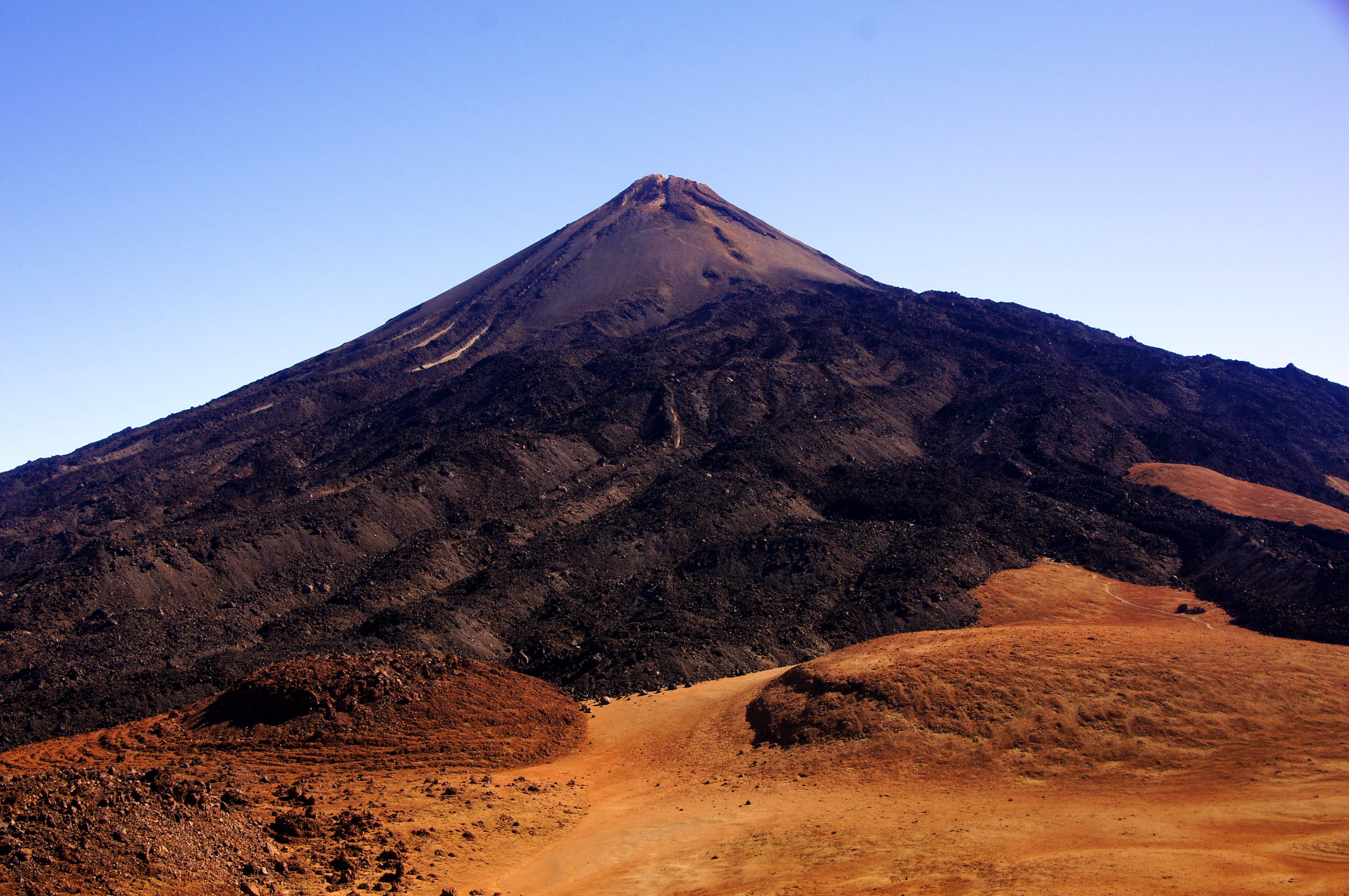 Highest point in Spain (Teide) and Pico Viejo