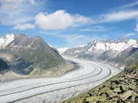 Atetsch glacier