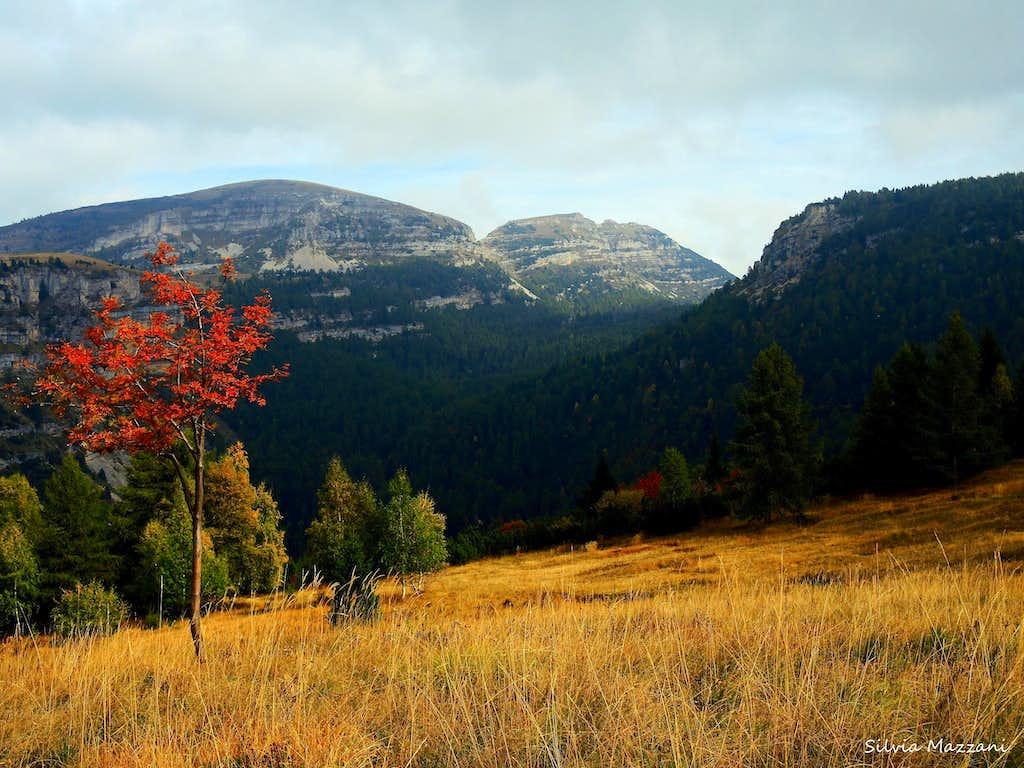 Monte Spil summit view