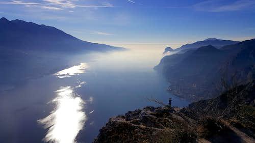 Punta dei Larici and Southern Garda Lake