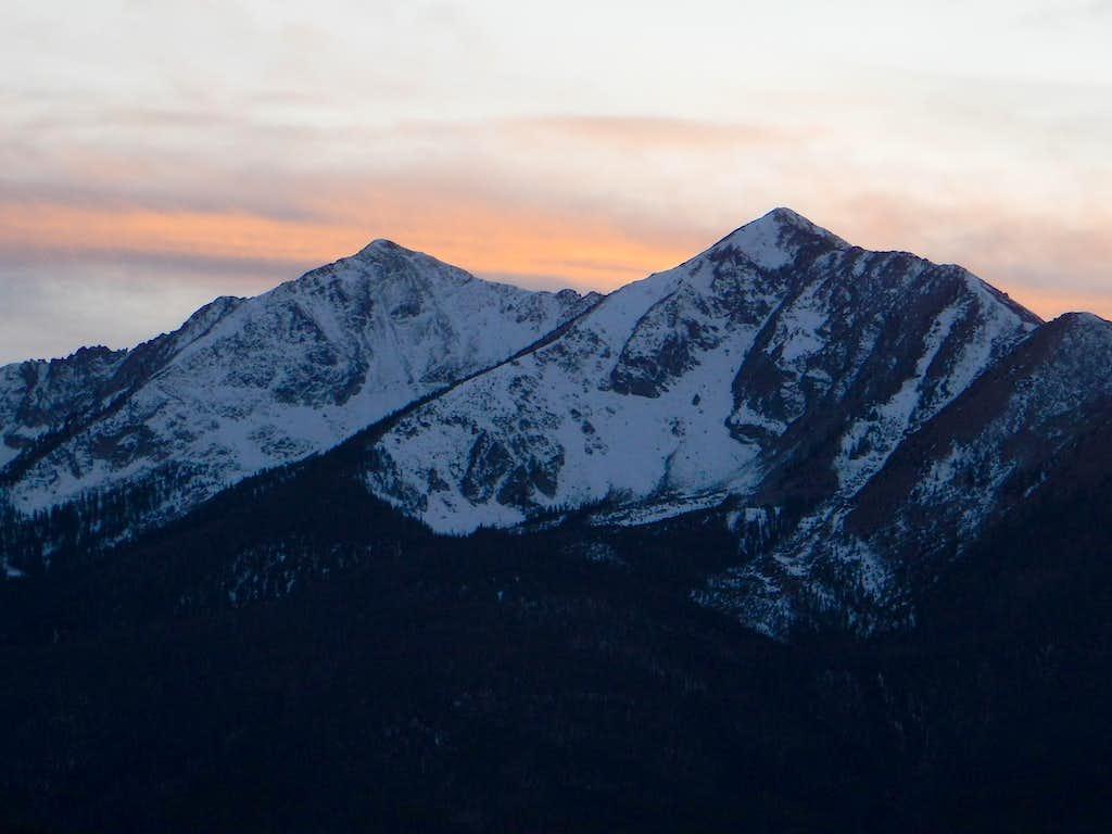 Peaks 1 and 2