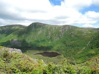 Viewpoint before mont Xalibu