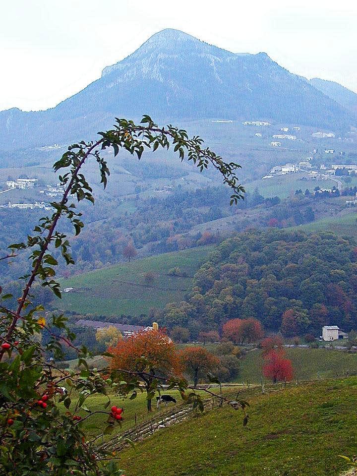 Corno d'Aquilio from near Fosse