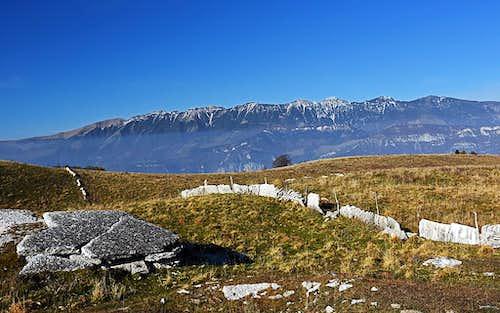 Monte Baldo from Lessinia