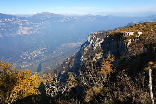 On the N ridge of Corno d'Aquilio