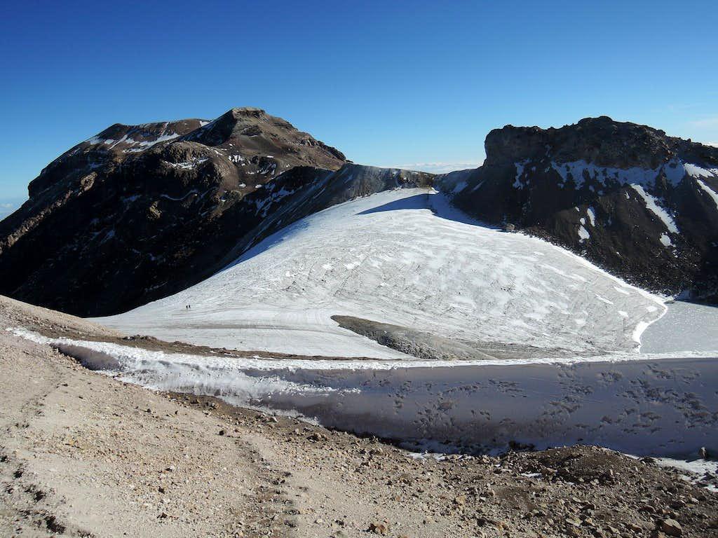 Ayoloco glacier