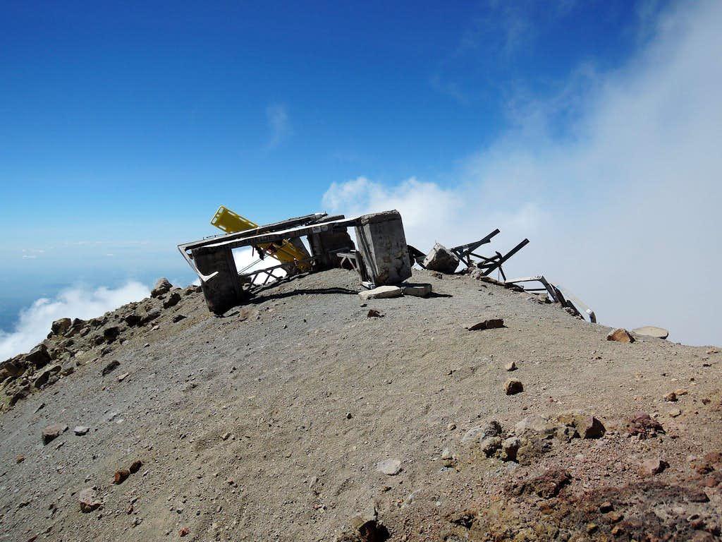 Ruins of Luis Mendez hut