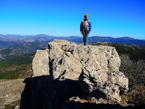 Summit of Perda 'e Liana