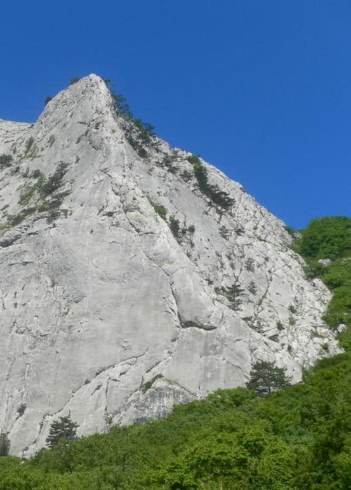 Climbing in Crimea