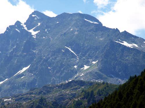 Mont Paramont Eastern Face above Lac du Fond 2017