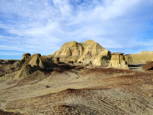 Badlands of New Mexico's San Juan Basin