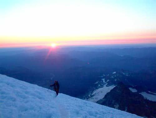 Climbing above 13,500 feet on...