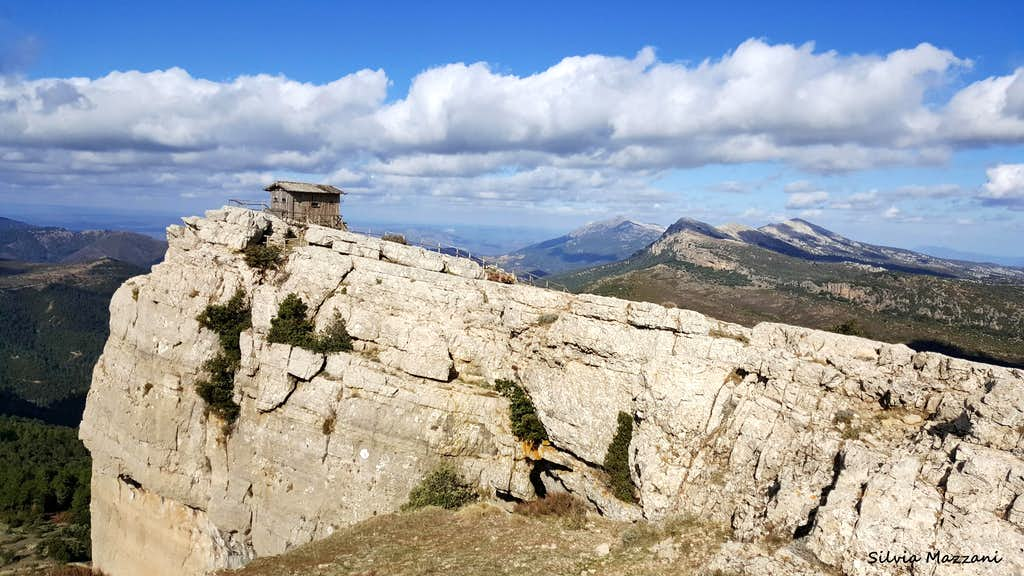 Summit of Monte Novo San Giovanni