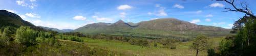 Glen Affric Panorama