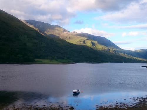 Loch Leven and Binnein Mor