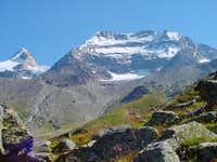 Lagginhorn and Fletschhorn,...
