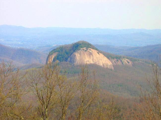 Looking Glass Rock seen from...