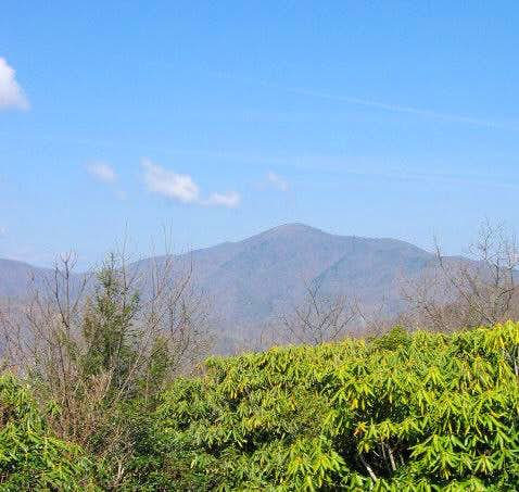 Shot this of Cold Mountain...
