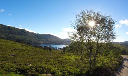 Loch Affric from the Affric to Kintail Way