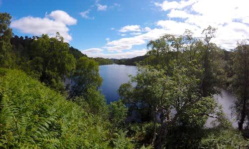 Eastern end of Loch Affric