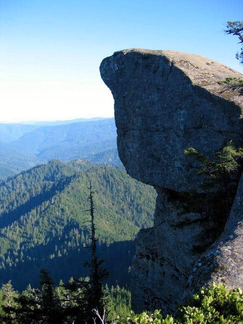 Hanging Rock, 3,600 ft. above...