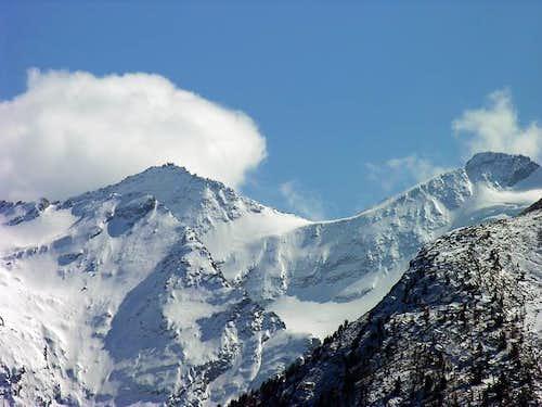 Roccia Azzurra (3308 m) and...