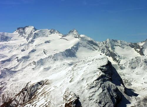 The heart of Gran Paradiso massif...