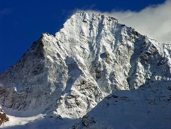North wall of monte Emilius...
