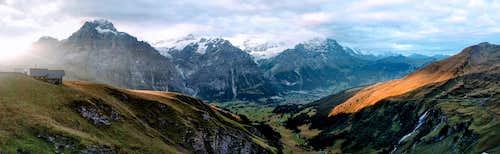 Grindelwald at Dawn