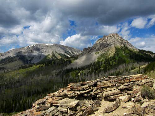 route to Lander Peak