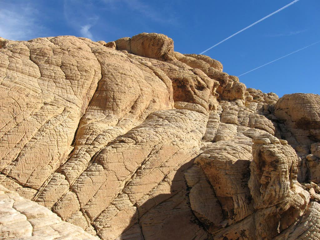Rock Formations Near Calico Tanks