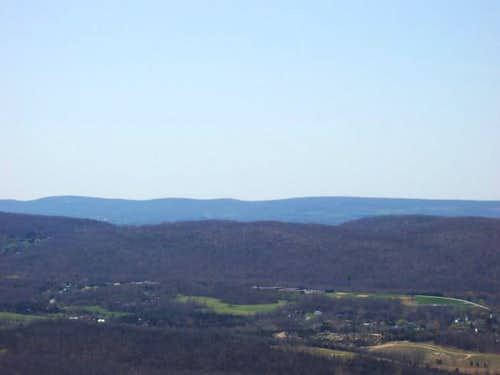 View from Wawayanda Mt.