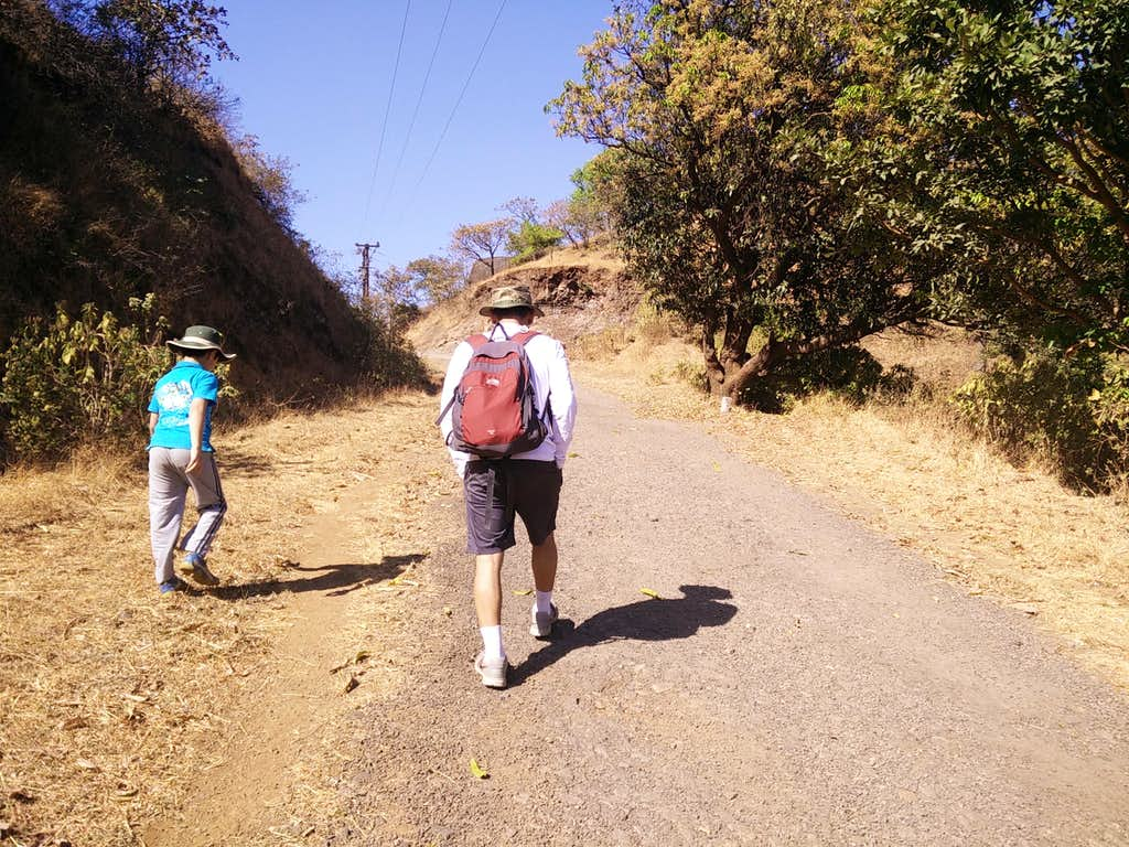Hiking starts