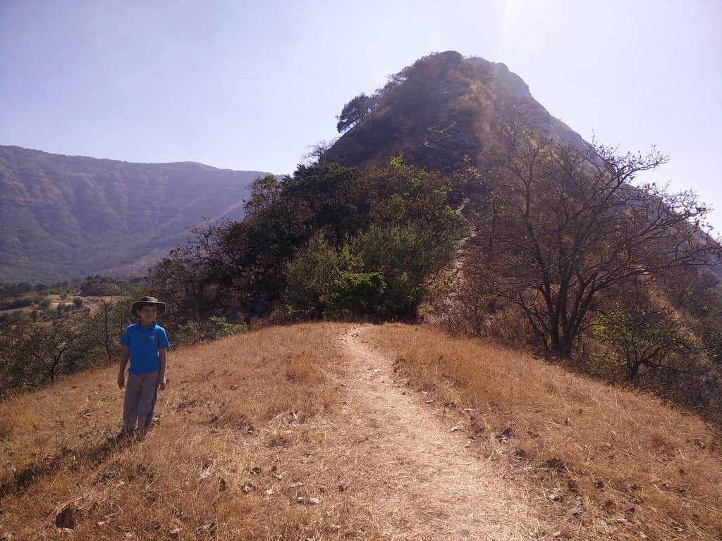 Yuvaan on the trail