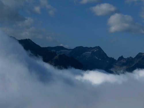 Zillerkopf just above 3000 m