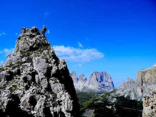 Summit of Torre dell'Antonio
